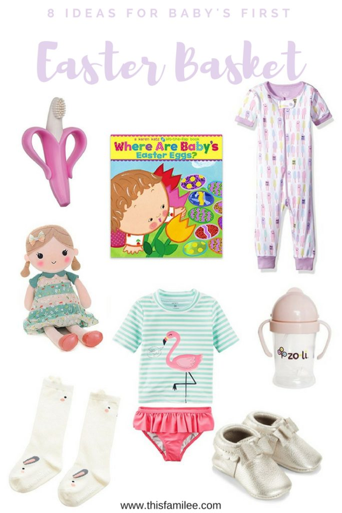 Ideas for babys first easter basket this familee easter basket ideas for babys first easter thisfamilee negle Images